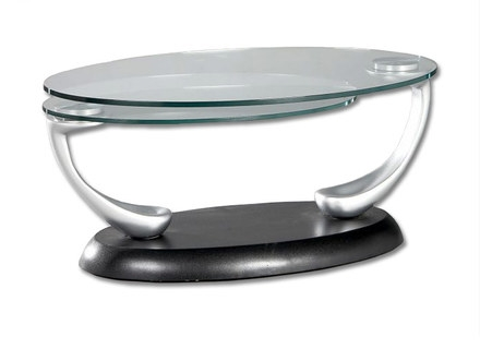 Amazing High Quality Oval Black Glass Coffee Tables With Regard To Glass Coffee Table Oval Jerichomafjarproject (Image 1 of 50)