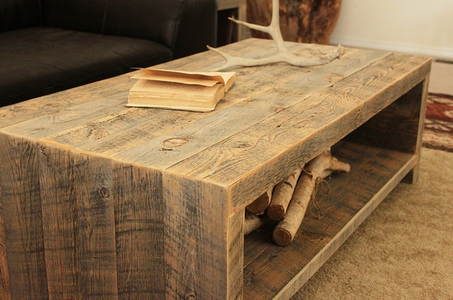 Amazing High Quality Reclaimed Wood And Glass Coffee Tables Inside Coffee Table Wonderful Wood Coffee Table In Your Living Room (View 8 of 50)