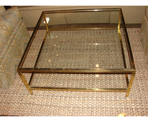 Amazing High Quality Vintage Glass Coffee Tables For Vintage Brass Tray Coffee Table Coffeetablesmartin Tables (View 45 of 50)