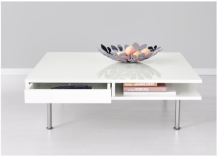 Amazing High Quality White Square Coffee Table Pertaining To Plastic White Square Coffee Table (Image 1 of 50)