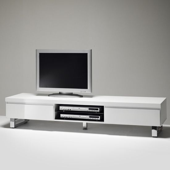 Amazing High Quality White TV Stands For Flat Screens Throughout 38 Best Tv Stands Images On Pinterest High Gloss Tv Stands And (Image 3 of 50)