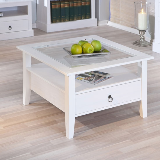 Amazing High Quality White Wood And Glass Coffee Tables Within White Wood Coffee Table Good Glass Coffee Table For Pallet Coffee (Image 2 of 40)