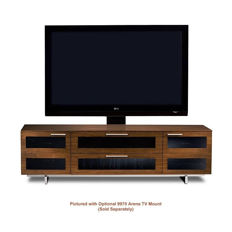 Amazing High Quality Wide TV Cabinets With Regard To Bdi Avion 8929 Cwl 4 Component Wide Tv Cabinet Chocolate Stained (Image 3 of 50)