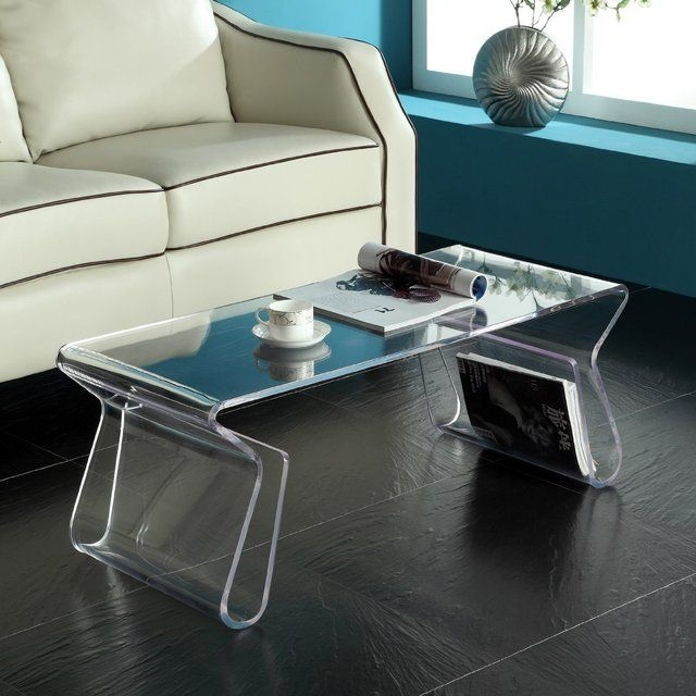 Amazing Latest Acrylic Coffee Tables With Magazine Rack For 34 Best Medley Acrylic Images On Pinterest (View 6 of 40)