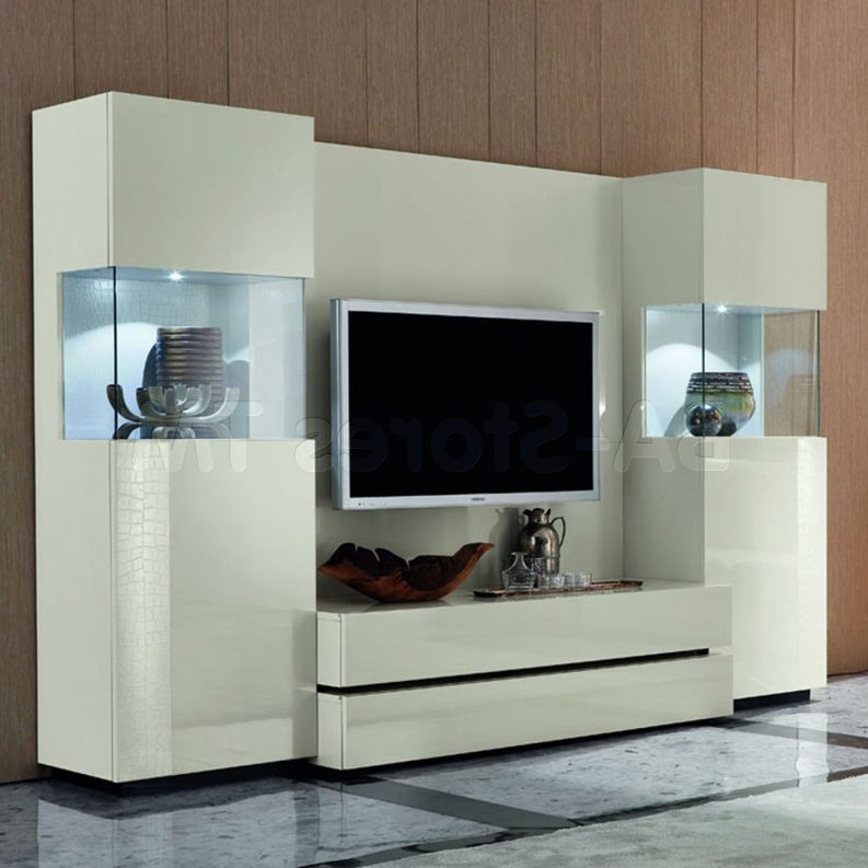 Amazing Latest Cream Color TV Stands Throughout Living Room Cabinets With Doors White Mahogany Wood Corner Tv (Image 2 of 50)