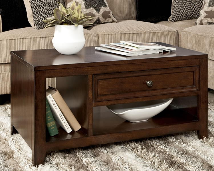 Amazing Latest Dark Wood Coffee Table Storages Intended For Coffee Table Surprising Coffee Table Storage Coffee Table With (Image 1 of 50)