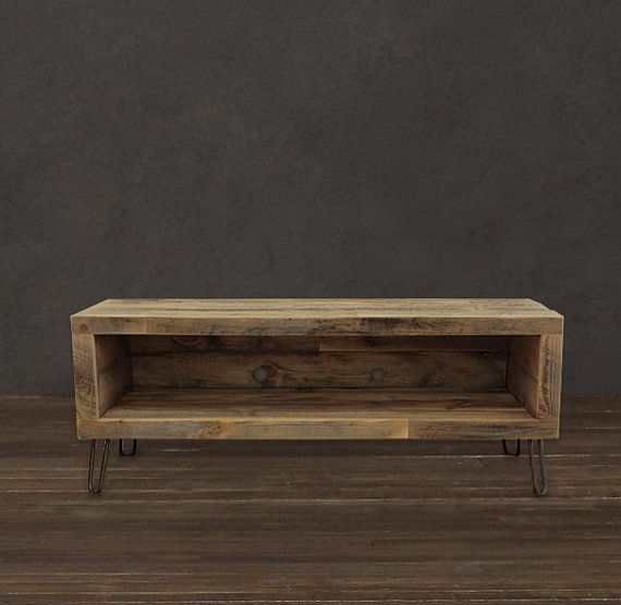 Amazing Latest Long Wood TV Stands Pertaining To Best 10 Reclaimed Wood Tv Stand Ideas On Pinterest Rustic Wood (Image 1 of 50)