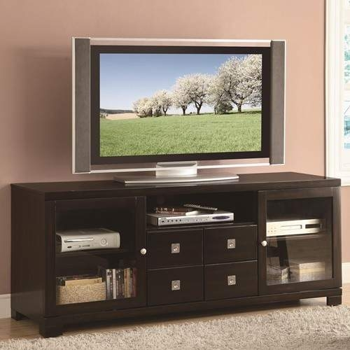 Amazing Latest Mahogany TV Stands With Regard To Tv Stands Contemporary Dark Mahogany Tv Console Quality (Photo 37 of 50)