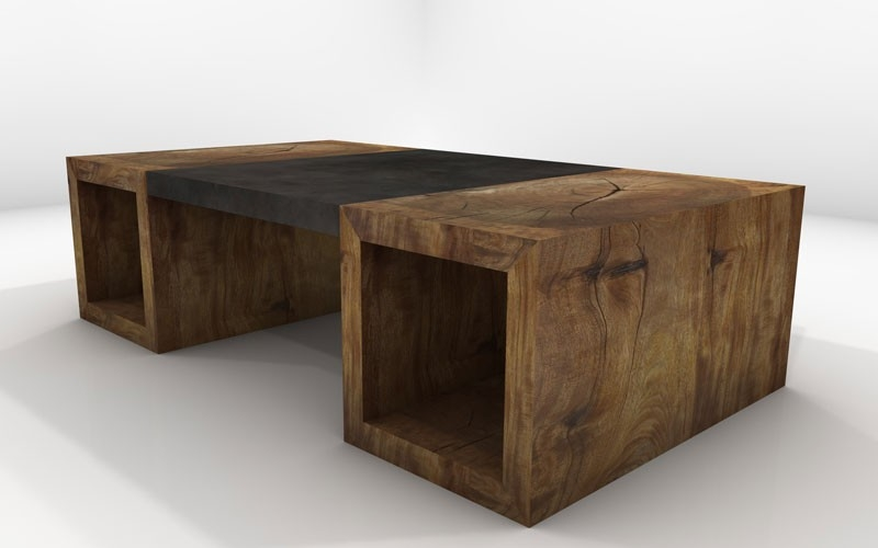 Amazing Latest Solid Wood Coffee Tables Within Mira Coffee Table Sustainable Solid Wood Living Room Furniture (Image 3 of 50)