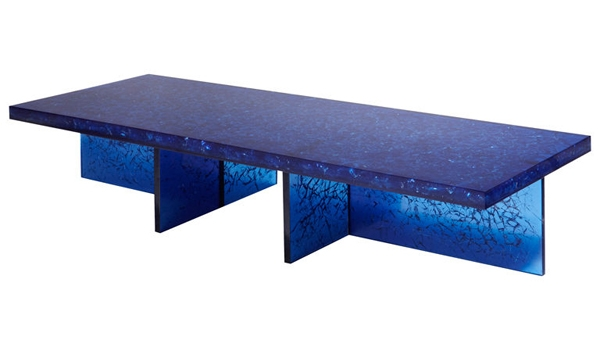 Amazing New Blue Coffee Tables Throughout Dubbed Kate Moss For French Vogue The Bohmerian (Image 5 of 50)