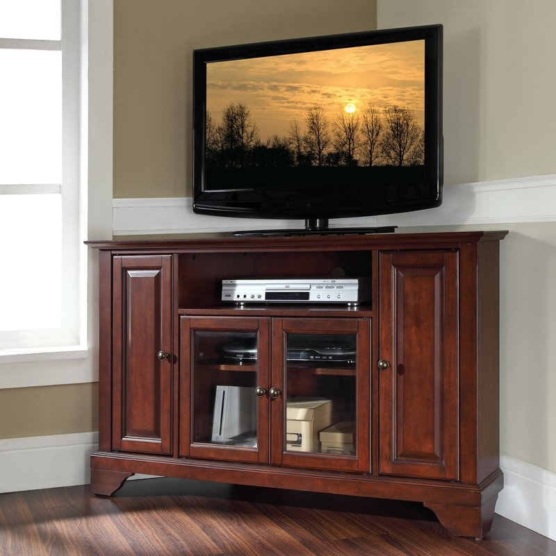 Amazing New Cheap Tall TV Stands For Flat Screens Pertaining To Shop 149 Corner Tv Stands (View 36 of 50)