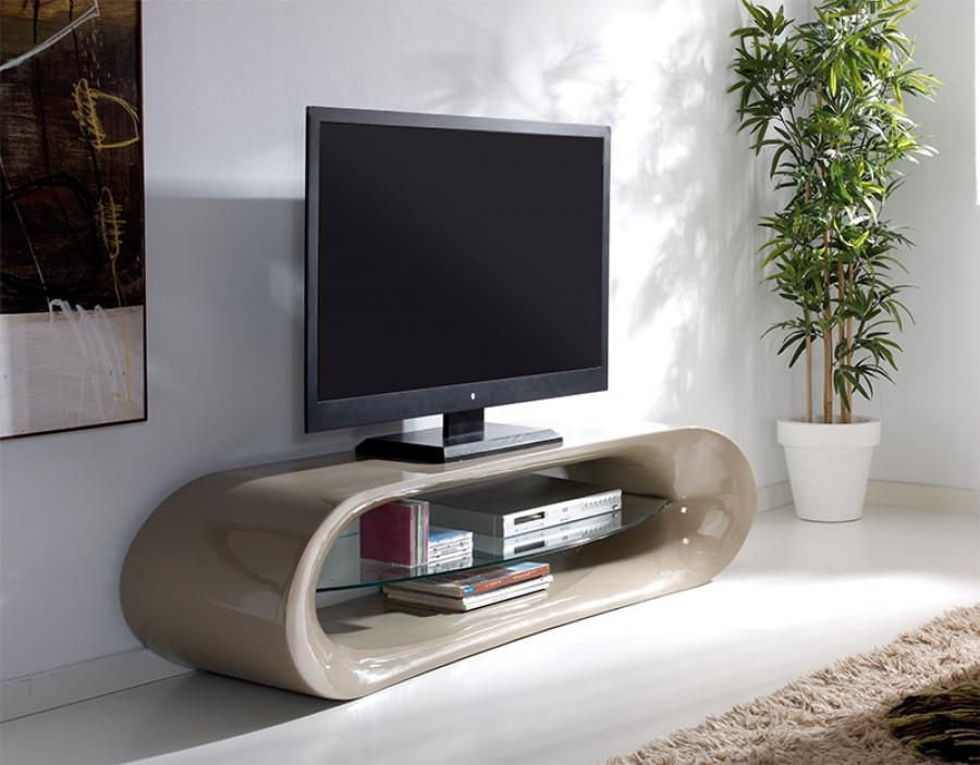 Amazing New Cream Gloss TV Stands With Claudia Modern High Gloss Tv Unit Choice Of Colour (Image 3 of 50)