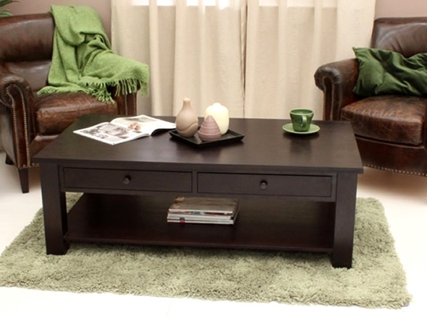 Amazing New Dark Coffee Tables Inside Dark Wood Coffee Table (Image 3 of 50)