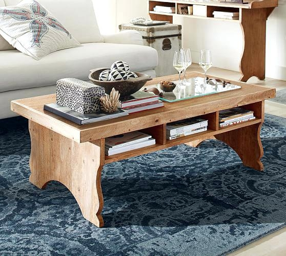 Amazing New Griffin Coffee Tables With Regard To Pottery Barn Griffin Coffee Table Reviews Railroad Cart Coffee (View 37 of 50)