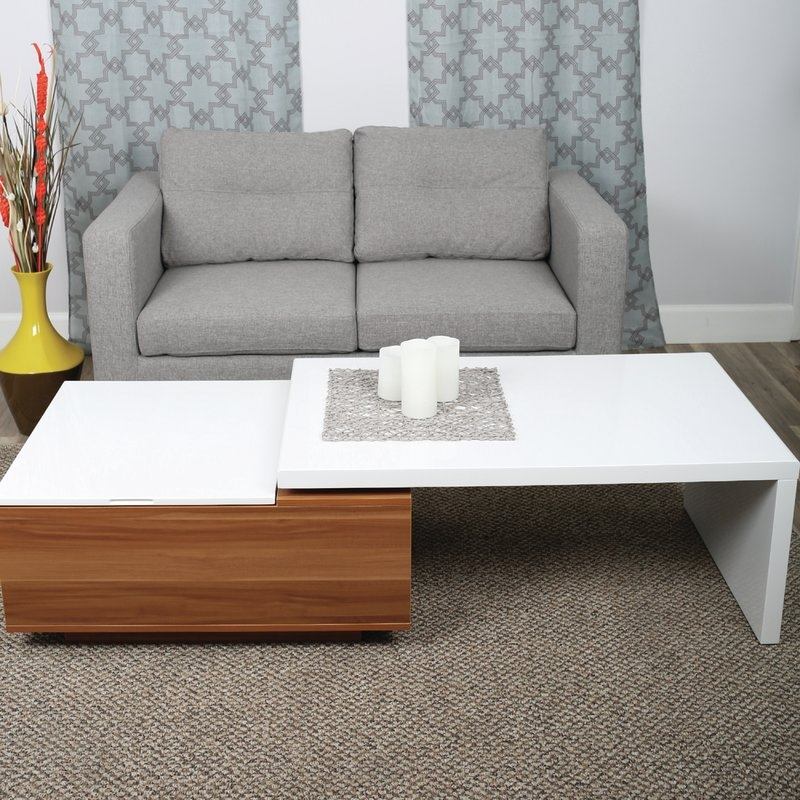 Amazing New Large Low Level Coffee Tables Intended For White Coffee Tables Youll Love Wayfair (View 36 of 50)