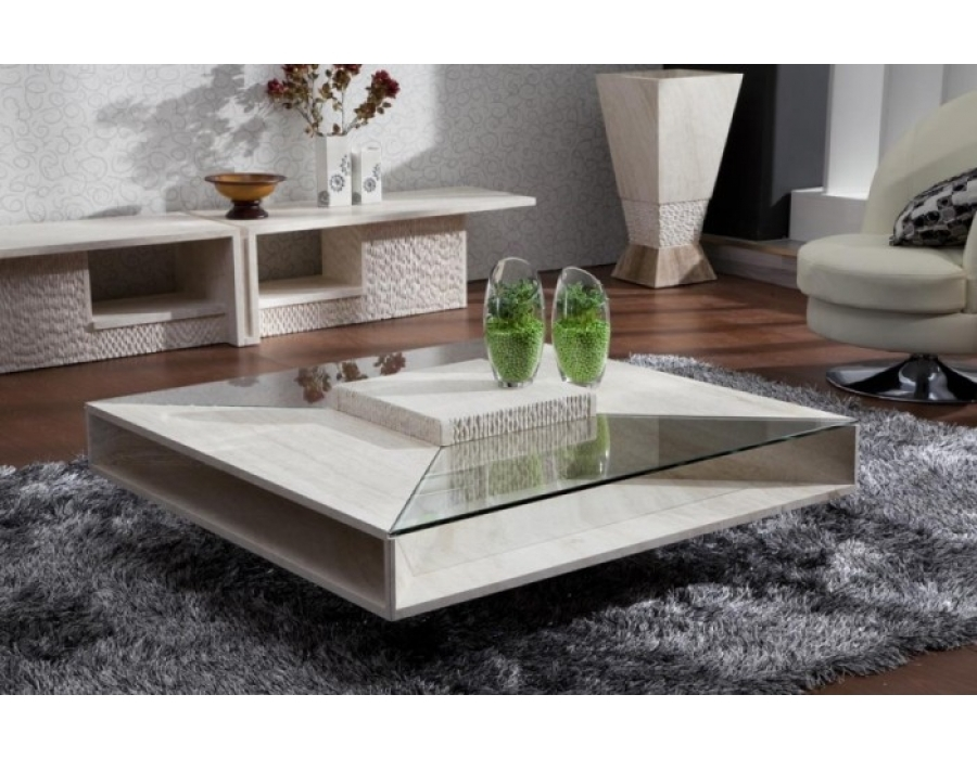 Amazing New Large Square Wood Coffee Tables For Glass Coffee Table Modern Coffee Tables Large Square Coffee Tables (Photo 22 of 50)
