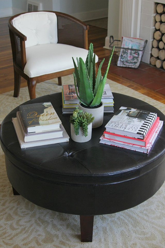 Amazing New Round Coffee Table Trays Regarding How To Style A Round Coffee Table Decor Fix (Image 2 of 50)