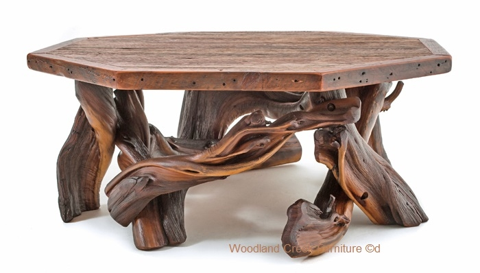 Amazing New Rustic Barnwood Coffee Tables With Regard To Log Coffee Table (View 23 of 50)