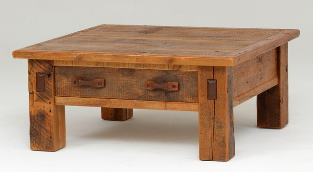 Amazing New Rustic Barnwood Coffee Tables Within Fabulous Rustic Barnwood Coffee Table Barnwood Square Coffee Table (View 21 of 50)