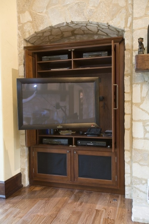 Amazing New Traditional TV Cabinets Throughout 8 Best Tv Nook Ideas Images On Pinterest Tv Nook Tv Cabinets (Image 3 of 50)