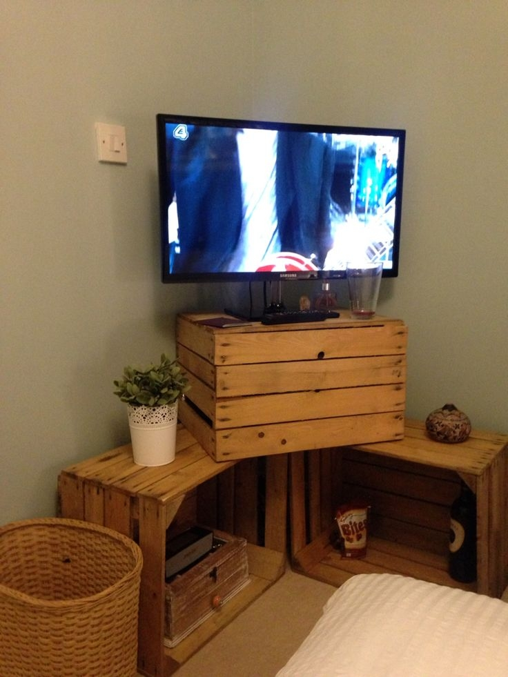 Amazing New TV Stands 100cm Wide Within Best 10 Tv Stand Corner Ideas On Pinterest Corner Tv Corner Tv (View 46 of 50)