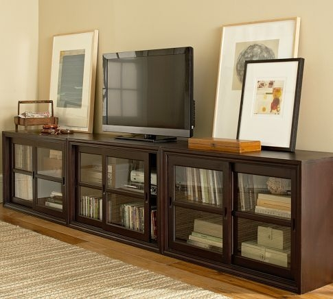 Amazing New TV Stands And Cabinets Inside Top 25 Best Long Tv Stand Ideas On Pinterest Diy Entertainment (Image 2 of 50)