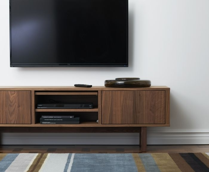 Amazing New TV Stands With Back Panel Regarding Best 25 Wall Mount Tv Stand Ideas On Pinterest Tv Mount Stand (Image 4 of 50)