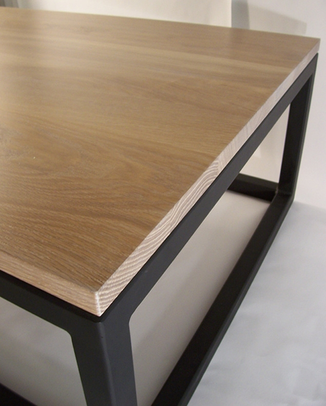 Amazing New White And Oak Coffee Tables Pertaining To Pk Steel Designs Products (Image 2 of 50)