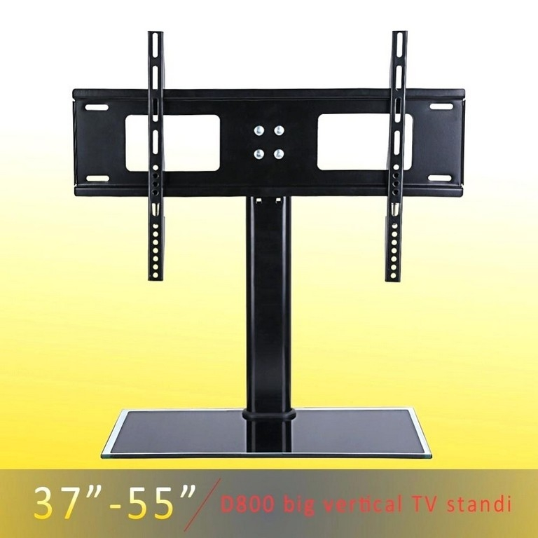 Amazing Popular 44 Swivel Black Glass TV Stands With Furniture Tv Stand With Mount Best Buy Metal Cake Stands For (Image 2 of 50)