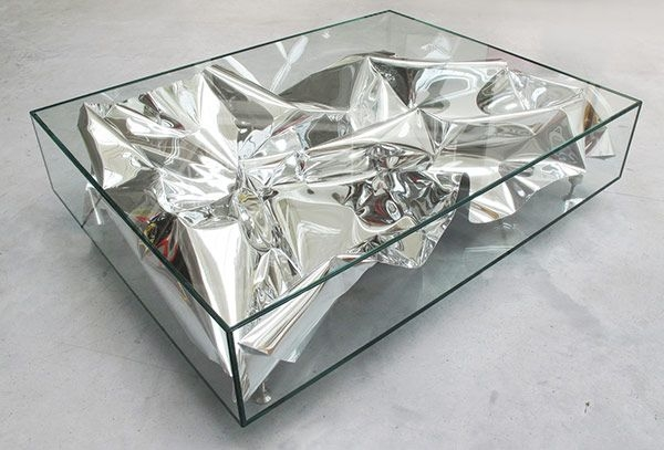 Amazing Popular Art Coffee Tables Throughout Coffee Table Plastolux (Image 1 of 50)