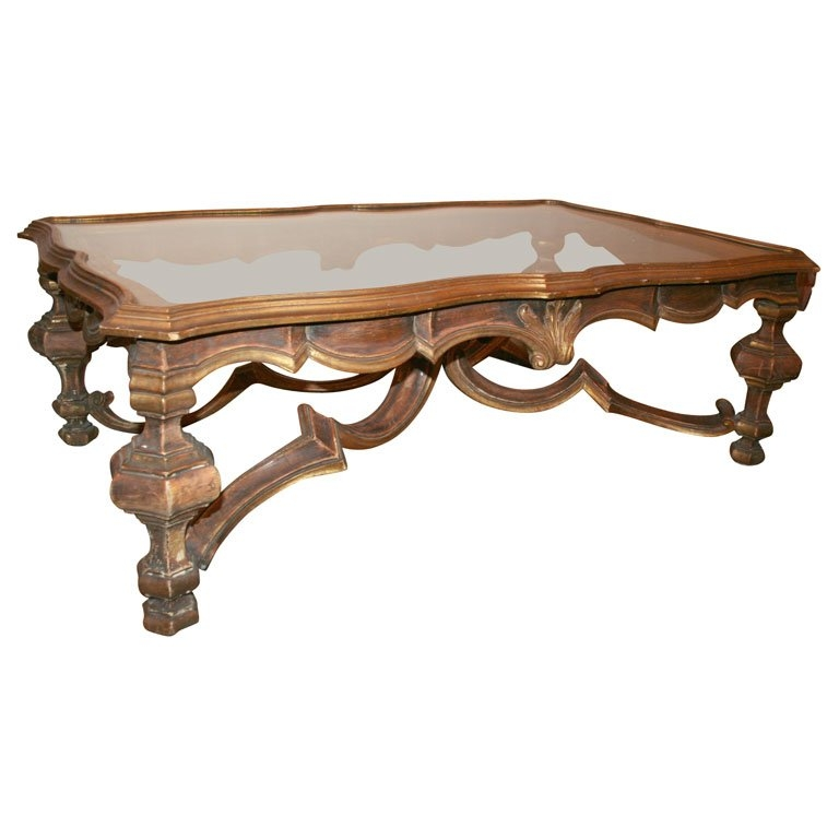 Amazing Popular Baroque Coffee Tables Inside Italian Baroque Style Coffee Table At 1stdibs (Image 2 of 50)