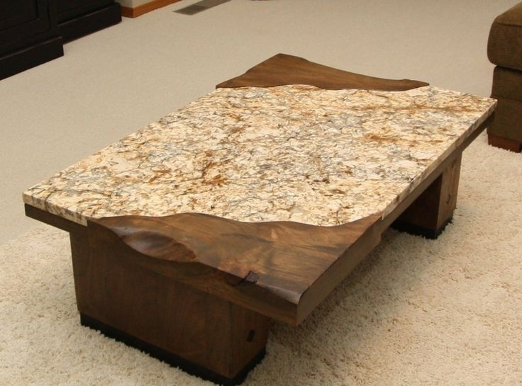 Amazing Popular Beige Coffee Tables With Regard To Best 20 Granite Coffee Table Ideas On Pinterest Marble Coffee (Image 3 of 40)