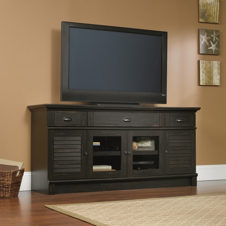 Amazing Popular Enclosed TV Cabinets With Doors Regarding Dark Wood Enclosed Tv Cabinets For Flat Screens With Doors Mixed (Image 2 of 50)