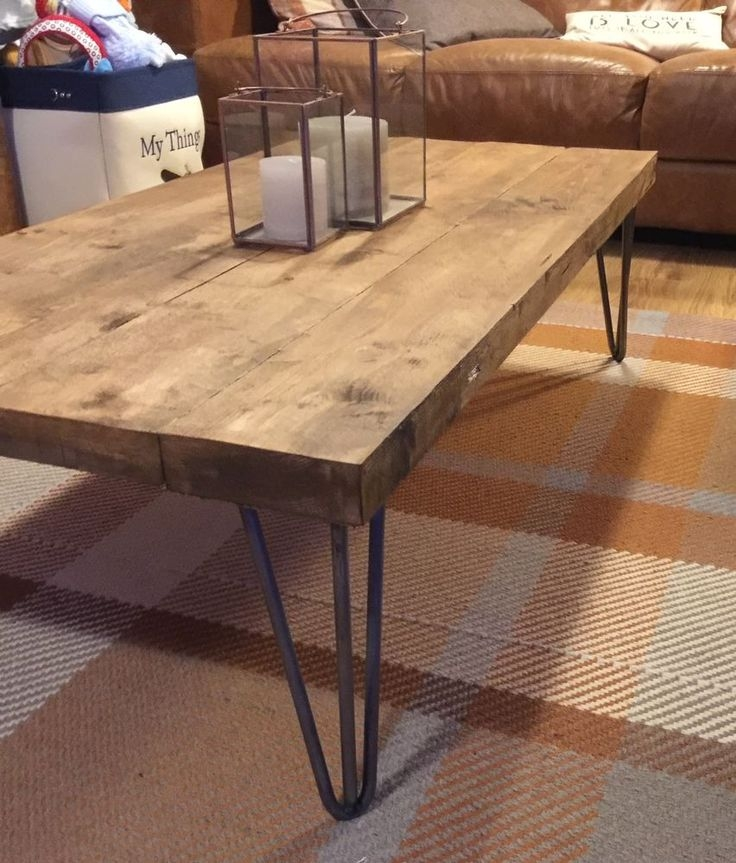 Industrial Themed Coffee Table: 50 Best Collection Of Industrial Style Coffee Tables