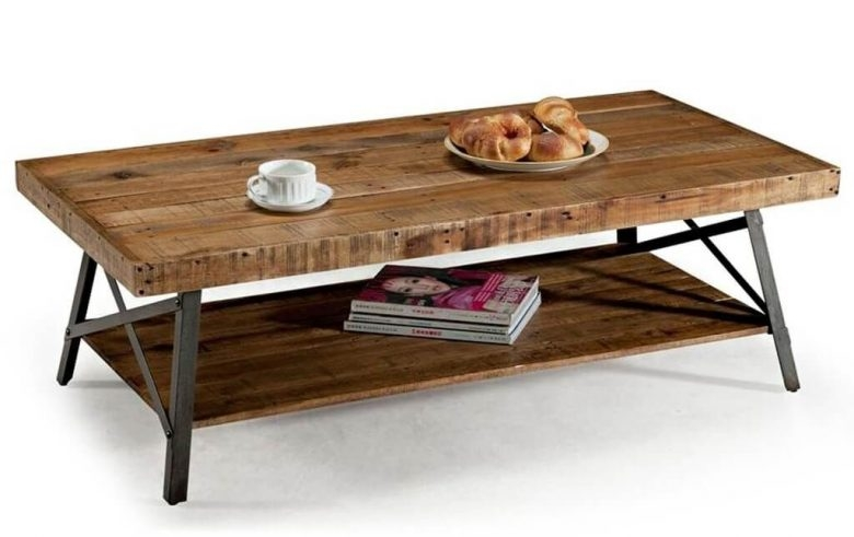 Amazing Popular Large Rustic Coffee Tables Pertaining To Furniture Rustic Coffee Table Styles And Plans Rustic Coffee (View 11 of 50)