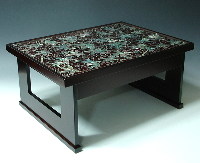 Amazing Popular Mother Of Pearl Coffee Tables For Mother Of Pearl Coffee Table Decor With Lacquer Ash Wood Grape (Image 2 of 50)