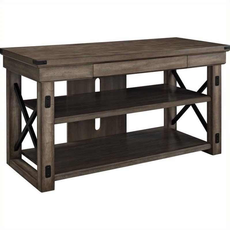 Amazing Popular Oak TV Stands For Flat Screens Within Oak Tv Stands For Flat Screens Oak Tv Stand Cymax (Image 4 of 50)