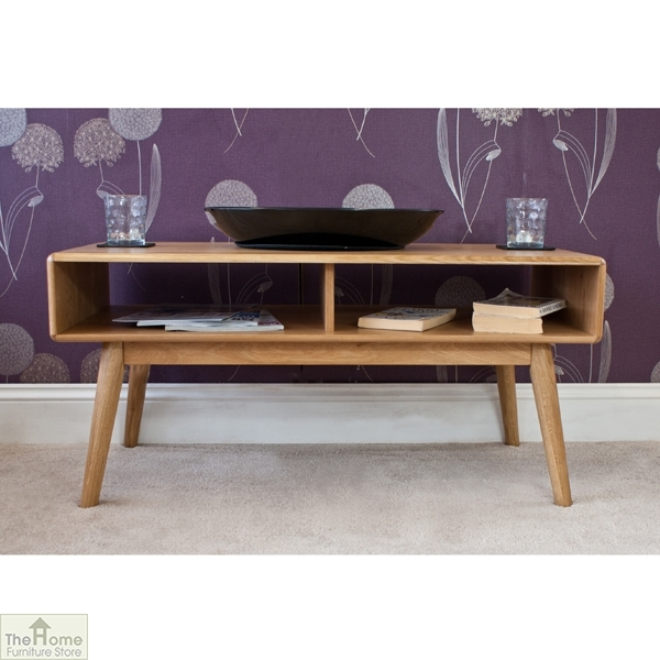 Amazing Popular Retro Oak Coffee Tables Throughout Casamor Retro Style Oak Coffee Table The Home Furniture Store (Image 3 of 50)