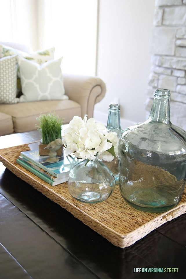 Amazing Popular Round Coffee Table Trays With Living Room Top Decorative Coffee Table Trays Foter In For Remodel (Image 3 of 50)