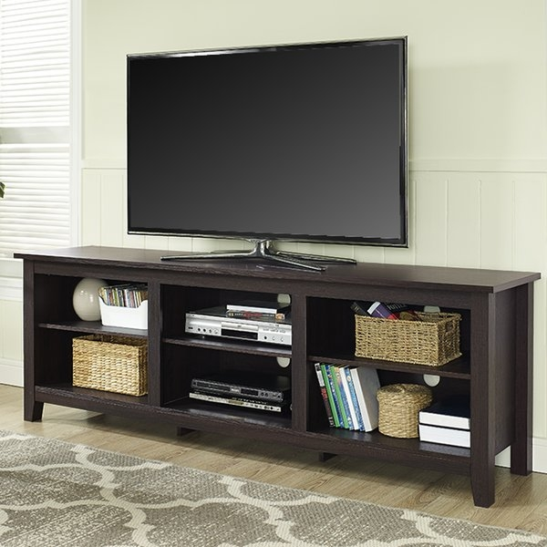 Amazing Popular Tall TV Cabinets Corner Unit Regarding Tv Stands For Tvs Over 70 Inches Youll Love Wayfair (Image 3 of 50)