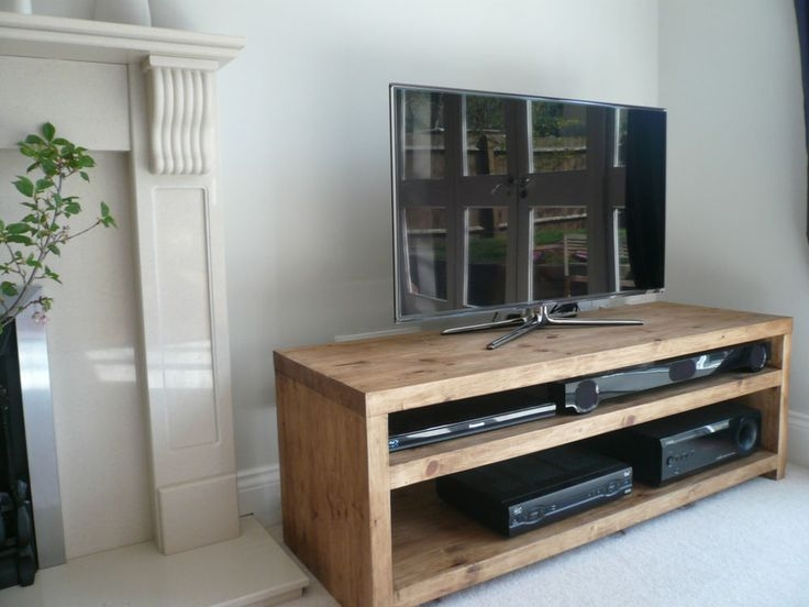 Amazing Popular TV Stands 100cm Wide Throughout The 25 Best Solid Wood Tv Stand Ideas On Pinterest Reclaimed (View 39 of 50)