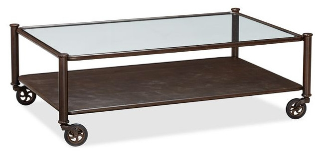 Amazing Popular Wheels Coffee Tables With Regard To Pottery Barn Coffee Table With Wheels Idi Design (View 45 of 50)