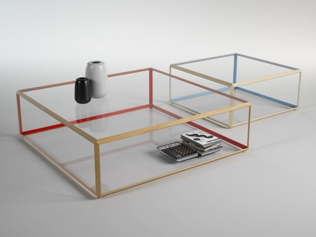 Amazing Preferred C Coffee Tables Intended For 45 Coffee Table 3d Model Molteni C (View 19 of 50)