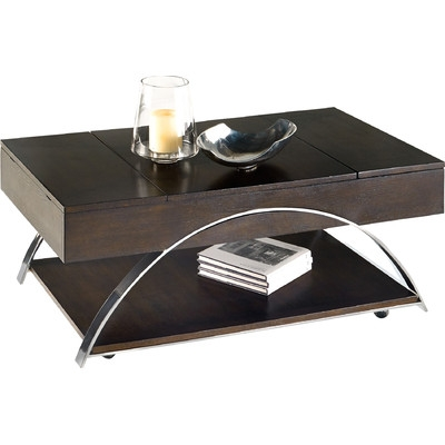 Amazing Preferred Coffee Table With Raised Top Regarding Wade Logan Tyler Coffee Table With Lift Top Reviews Wayfair (Image 1 of 50)