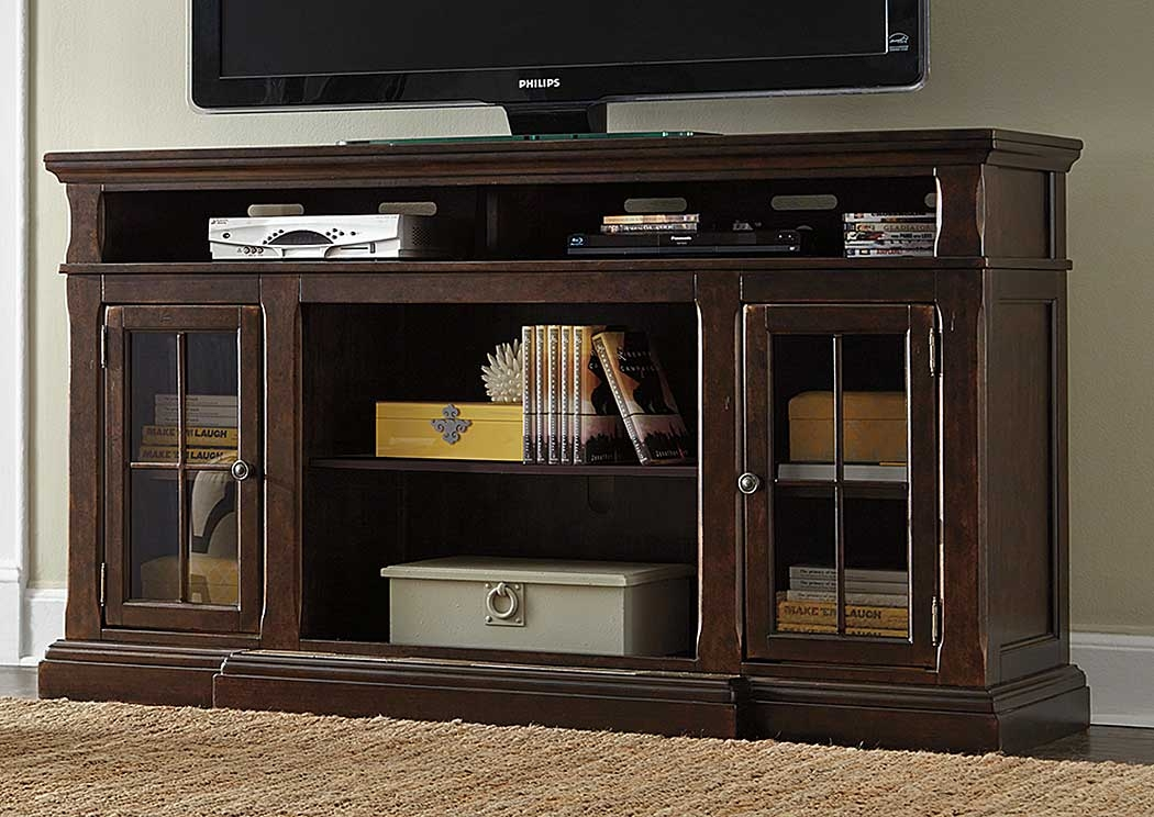 Amazing Preferred Dark TV Stands In Martinez Furniture Appliance Mcallen Tx Roddinton Dark Brown (Image 4 of 50)