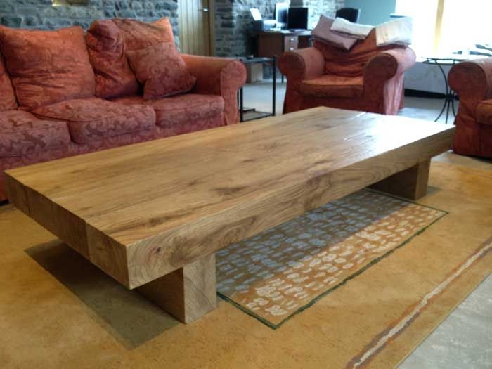 Amazing Preferred Extra Large Low Coffee Tables With Catchy Oak Coffee Table Coffee Tables European Oak Coffee Table (Image 3 of 50)