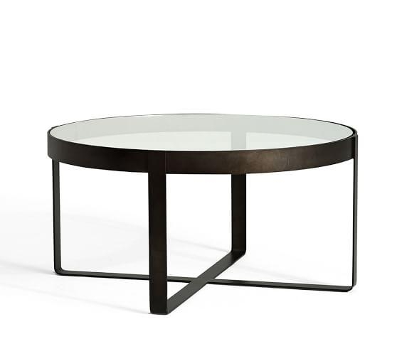 Amazing Preferred Glass And Metal Coffee Tables Throughout Incredible Round Glass And Metal Coffee Table Best Ideas About (Image 5 of 50)