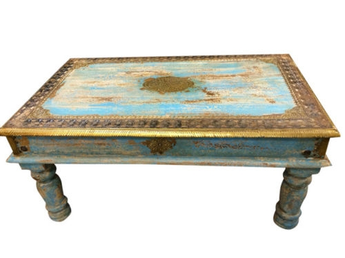 Amazing Preferred Indian Coffee Tables Throughout Coffee Table Hand Carved India Furniture Ebay (Image 3 of 40)