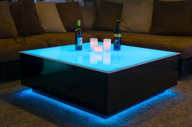 Amazing Preferred Led Coffee Tables With Led Coffee Table Design Images Photos Pictures (Image 4 of 50)