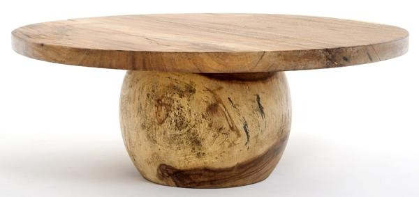 Amazing Preferred Round Coffee Tables With Regard To Contemporary Rustic Coffee Tables Live Edge Solid Wood Coffee (Image 3 of 50)
